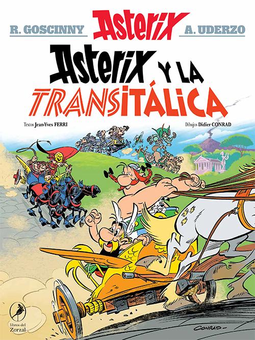 Asterix y la transitálica   Lanzamiento diciembre 2021