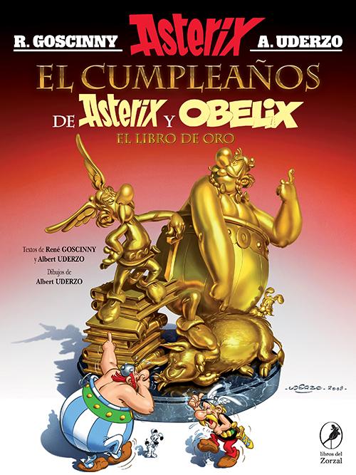El cumpleaños de Asterix y Obelix – El libro de oro | Lanzamiento diciembre 2021