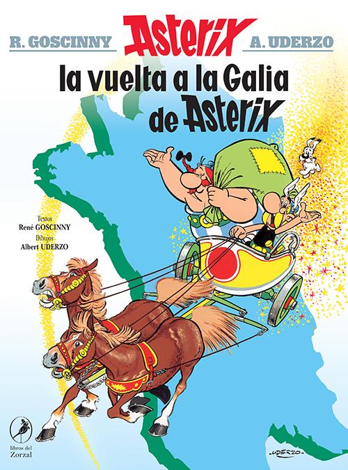 La vuelta a la Galia de Asterix