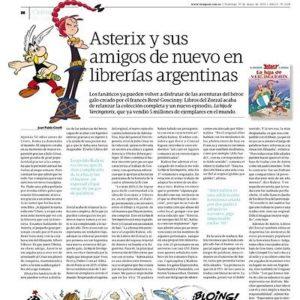 Asterix y sus amigos llegan de nuevo a las librerías argentinas